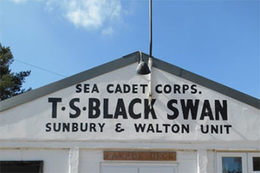 Sunbury and Walton Sea Cadets, TS Black Swan, Penny Lane, Shepperton