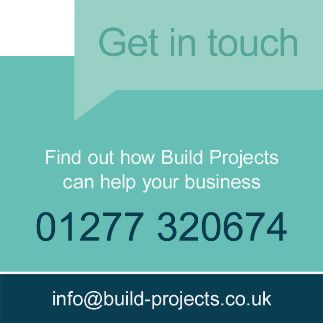 Get in touch to find out how Build Projects can help your business